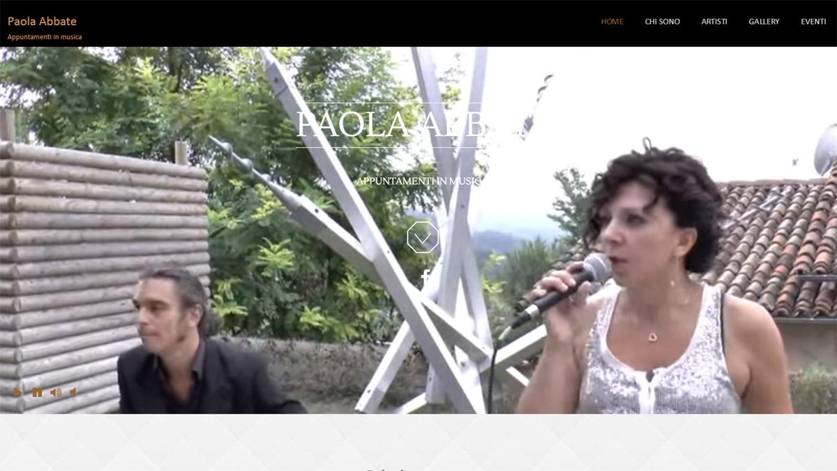 Paola Abbate Eventi Musicali