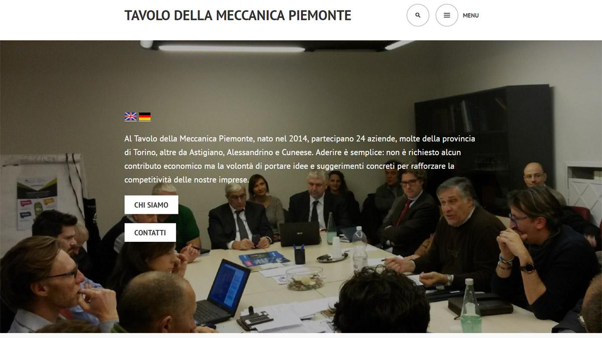 Tavolo della Meccanica Piemonte
